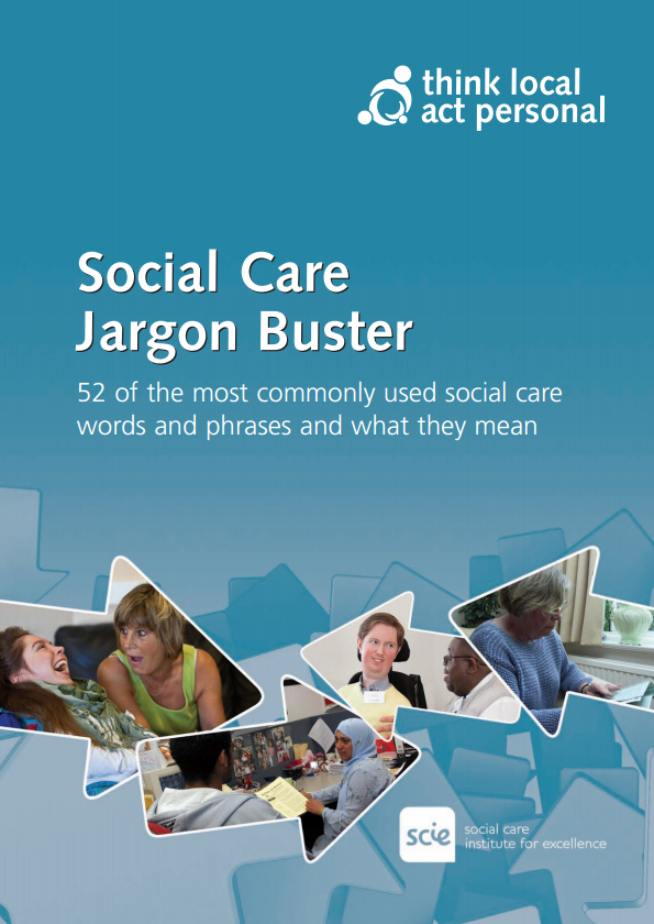 Social Care Jargon Buster